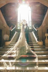 wedding in winter
