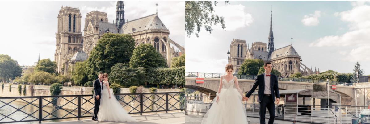 Photoshoot in paris Notre dame