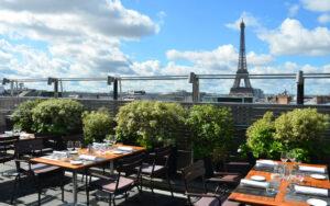 rooftops con Torre Eiffel