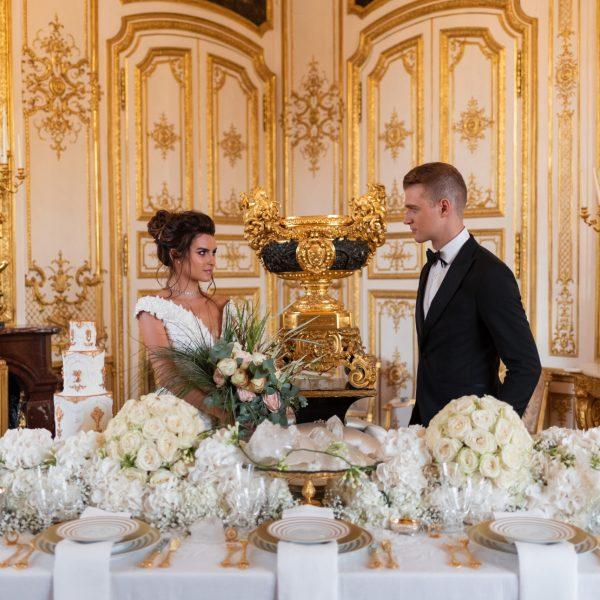 Successful wedding in France