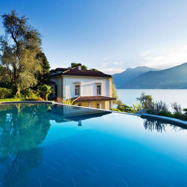 LAKE COMO Villa GIuseppina Garden Wedding View
