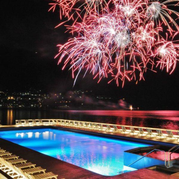 Lake Como Villa d'Este Night