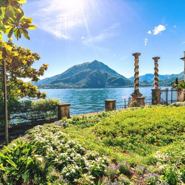 Lake Como Wedding Garden Villa Monastero