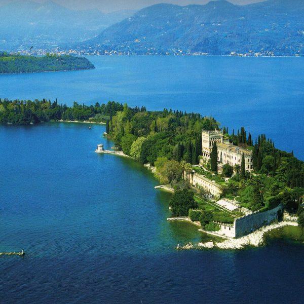 Lake Garda Villa Borghese Cavazza Isola del Garda View