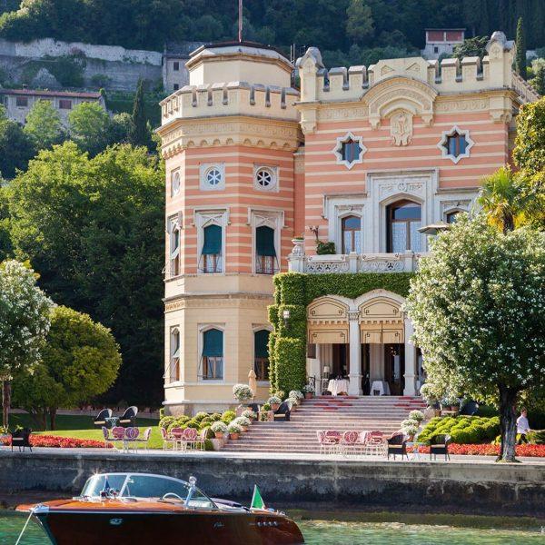 Lake Garda Villa Feltrinelli Boat