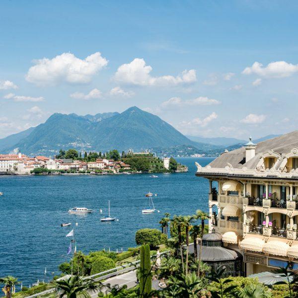 Lake Maggiore Villa Aminta View
