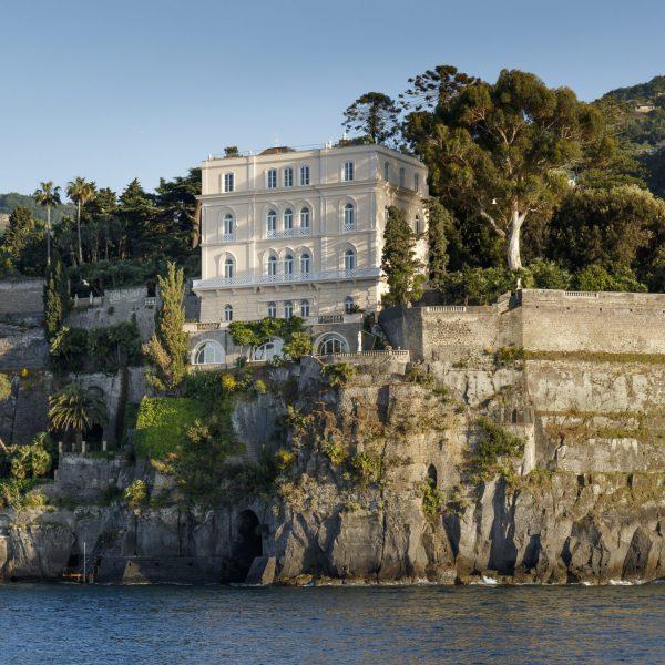 Villa Astor Sorrentine Peninsula Naples Bay Sorrento luxury rental private property sea view 1