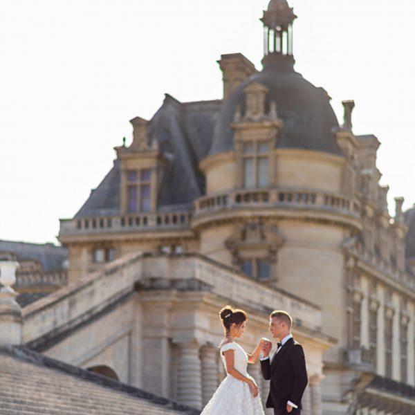 mariage au chateau idf