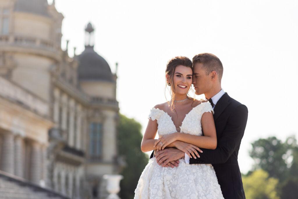 свадьба в Шато во Франции