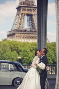 Элегантная свадьба в Париже