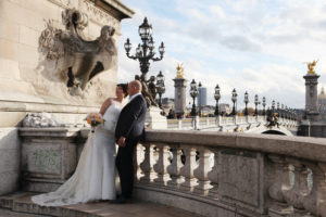 Fairy tale wedding in Paris
