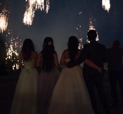 Роскошная свадьба во Франции, май 2016 года