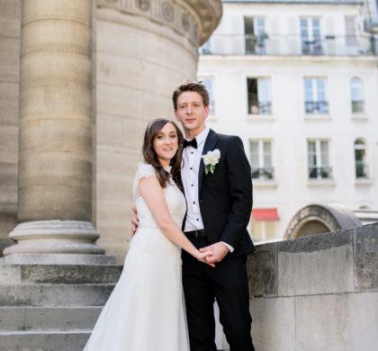 Элегантная свадьба в парижской часовне, июль 2016 года