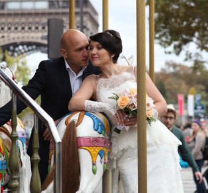 Сказочная свадьба в Париже