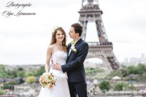 Изысканная свадьба в Париже (31)