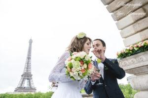 Изысканная свадьба в Париже (8)