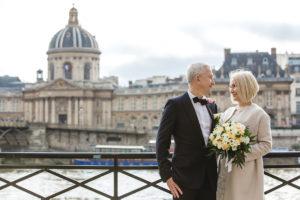 30 лет свадьбы - Жемчужная Свадьба в париже (5)