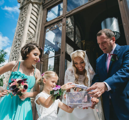 Get married in Paris, city of love and butterflies