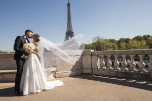 Свадьба в Париже Свадьба во Франции (4)