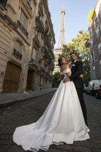 Свадьба в Париже Свадьба во Франции (6)