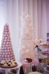 сладкий стол для свадьбы в Париже (1)